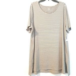 3X Old Navy Semi Fitted Striped Tee NWT